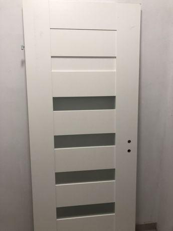 Skrzydło drzwiowe SEMPRE 80 cm Lewe białe, odpakowane nowe