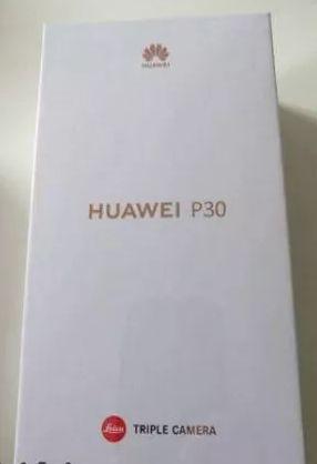 Huawei P30 SELADO caixa Desbloqueado 6GB/128GB Preto c/garantia 2 anos