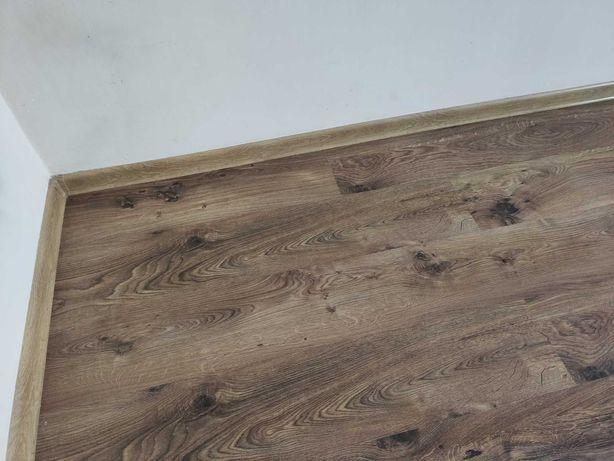 45m2 paneli podłogowych + listwy + mata ( Made in Germany ) TANIO !!
