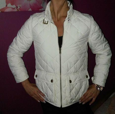 Kurtka pikowana wiosna biala Ralph Lauren