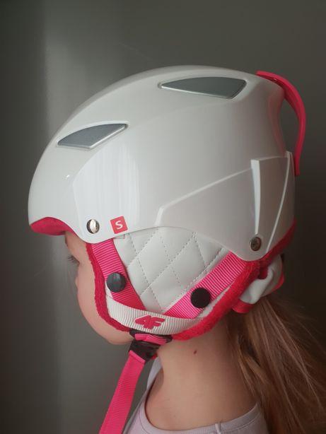 Kask narciarski 4F Dla dziewczynki, rozm. S