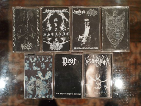 Cassetes/demos de Black Metal