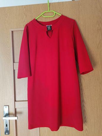 Sukienka czerwona rozm. uniwersalny