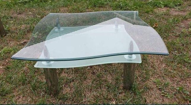 Stolik kawowy szklany do salonu