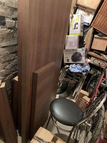 Stoł drewniany dąb santana 90 x 160-200 x 78 cm