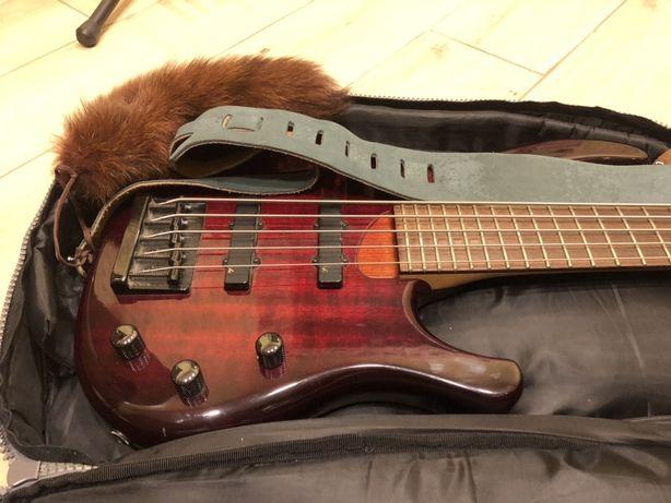 Бас гітара 5-ть струн Kudritsky актив