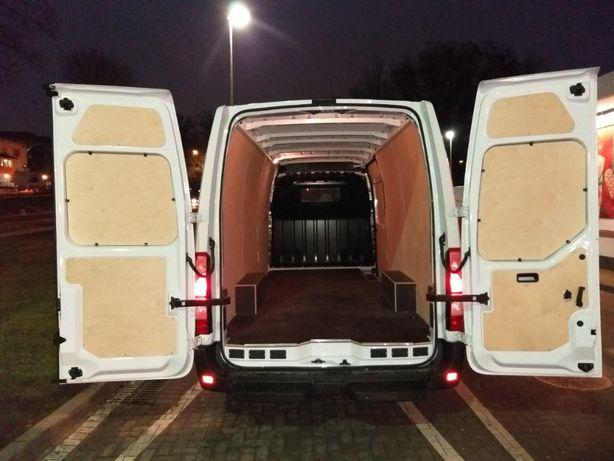 ZABUDOWA BUSA Renault Master/Opel Movano/Nissan Interstar/podłoga+boki