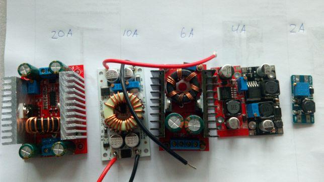 Стабилизатор повышающий 4А, 6А, 10А