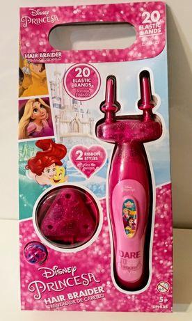 Urządzenie do zaplatania włosów w zestawie z gumkami-NOWE na prezent