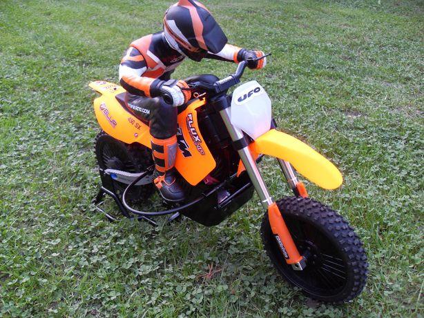 MOTOCYKL CROSS KTM 1:4 Model Zdalnie Sterowany RC Bezszczotkowy
