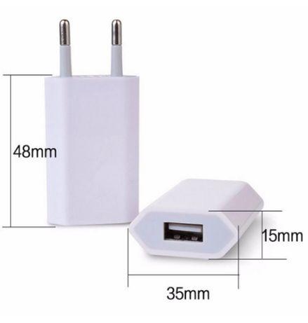 Usb carregador/adaptador rápido 5v/1a - Iphone