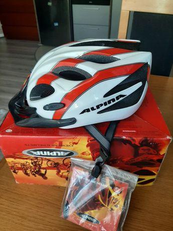 Nowy kask rowerowy Alpina Firebird Junior