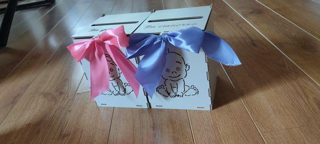 Свадебные коробочки на мальчика и на девочку