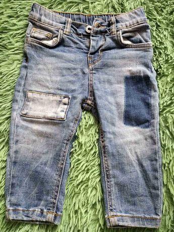 фирмовые джинсики на мальчика 3 - 6 , 6 - 9 месяцев.