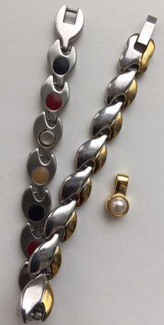 Магнитные украшения Energetix Magnetic: браслет, кулон/подвеска