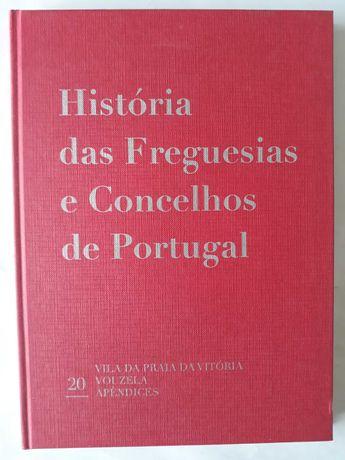 Historia das Freguesias e Concelhos de Portugal