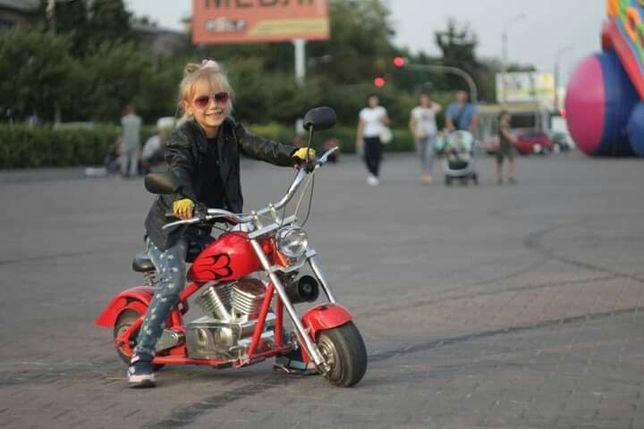 Детский электромотоцикл минимото мотоцикл для детей стальная рама цепь