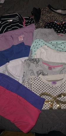 Ubranka dla dziewczynki roz 122