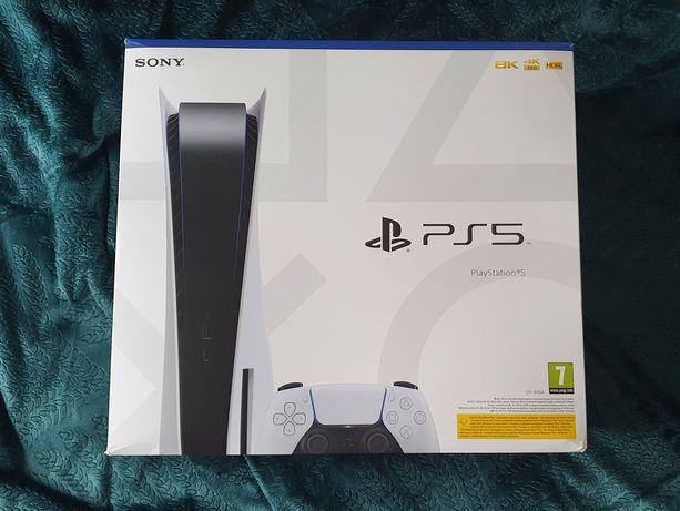 Nowa Konsola SONY PlayStation 5 PS5, Pad DualSense, Gwarancja, Od Ręki