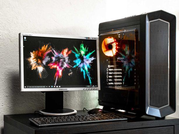 Игровой компьютер Intel i5, GTX 760 (пк, монитор,  nvidia geforce)