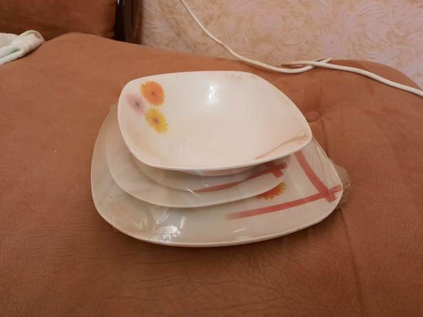 Набор тарелок 3 шт