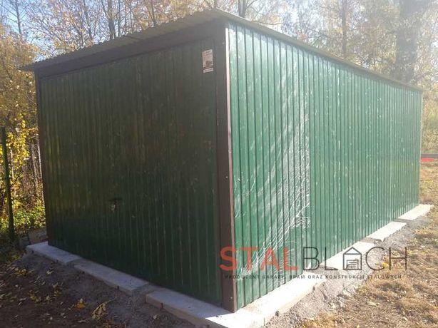 Garaż/konstrukcja stalowa - 3x5 / promocja