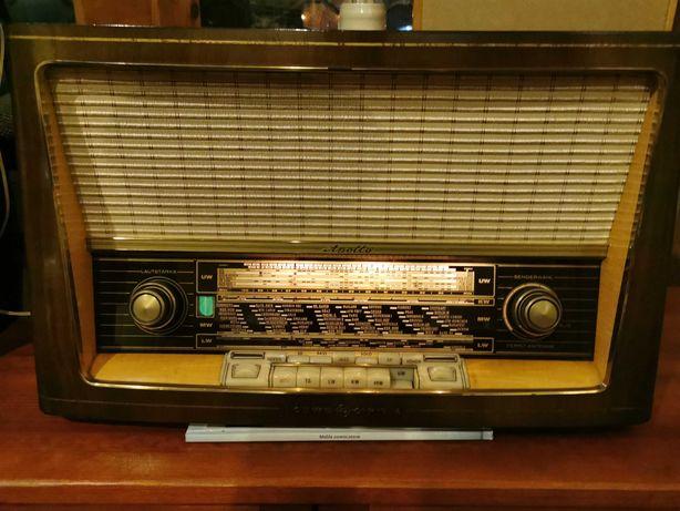 Radio lampowe Loewe Opta Apollo Typ 2761W 1958 rok, kolekcjonerskie.