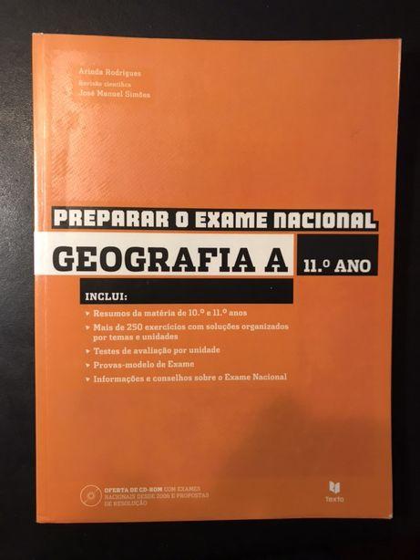 Preparar o Exame Nacional de Geografia - 11º Ano