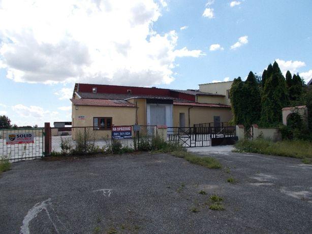 Obiekt produkcyjno-magazynowy w okolicach Drzycimia pow. świecki