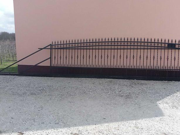 brama wjazdowa, przesuwna