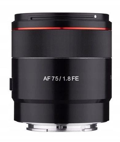 Obiektyw Samyang AF 75 mm 1.8 Sony FE NOWY