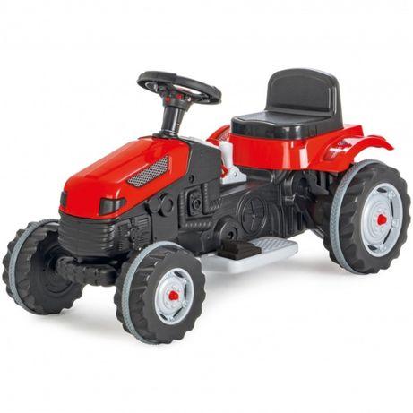 Duży traktor na akumulator czerwony do 50 kg