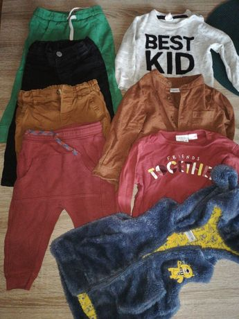 Ubranka chłopięce paka Zara H&M