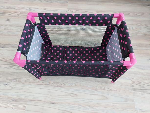 Łóżeczko dla lalki firmy Bartex jak nowe