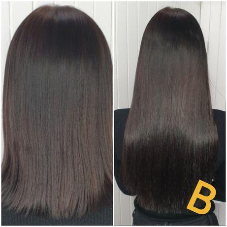 Наращивание волос 700 грн. любой длины! Ламинирование бровей ресниц!
