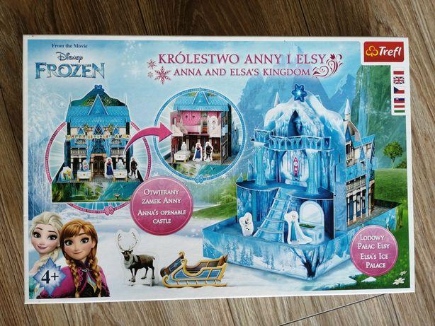 Pałac Anny i Elzy - układanka z papieru