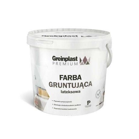 Greinplast Farba Premium Gruntująca Lateksowa 10l