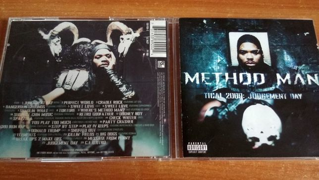 Method Man ‎– Tical 2000: Judgement Day , CD hip hop 1998