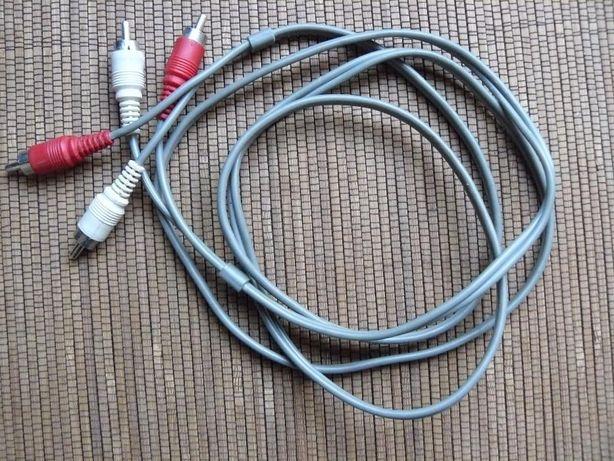 Аудио-видео кабель RCA(тюльпан)3,5 мм 2 штекера