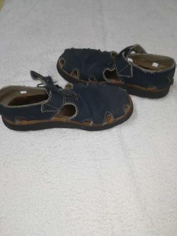 Sandálias azuis nº 39