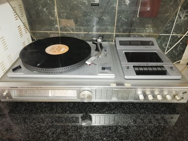 Gira discos antigo Toshiba