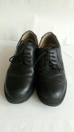 Туфли подростковые на мальчика кожа размер 36