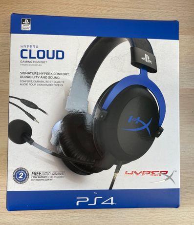 Słuchawki HyperX Cloud PS4 - Kultowa EDYCJA - Nowe + Gwarancja