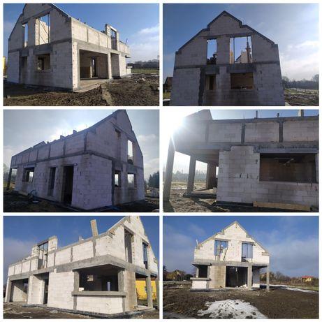 Budowa domow, garaże, stan zero, kondygnacja, stropy i inne