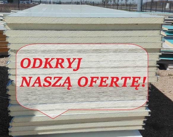 Płyta Warstwowa Płyty Warstwowe Poliuretan 40 mm 45,00 zł netto/m2