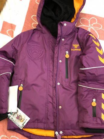 Зимняя лыжная детская куртка Hummel