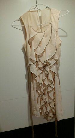 Falbaniasta sukienka M
