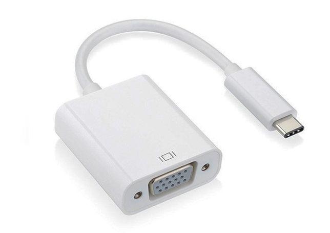 PC - Adaptador USB-C para VGA - NOVO