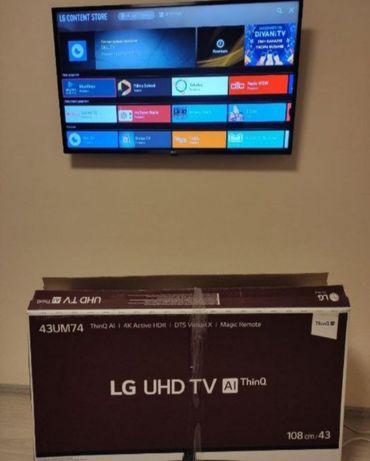 LG Smart TV T2 Wifi 43 Дюймів.Терміново