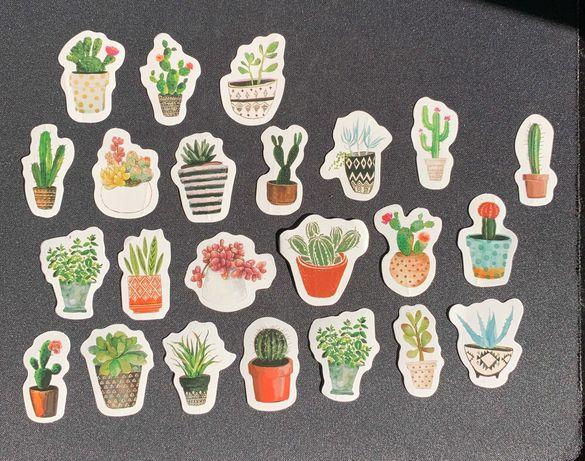 Plantas Stickers Pack (23 autocolantes)